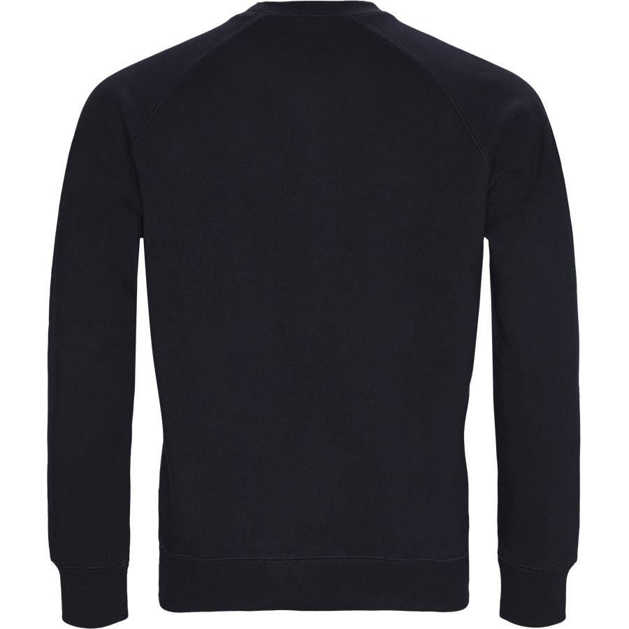 CHASE SWEAT. I026383 - Chase Crew Neck Sweatshirt - Sweatshirts - Regular - DARK NAVY/GOLD - 2